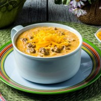 Keto Cheeseburger Soup