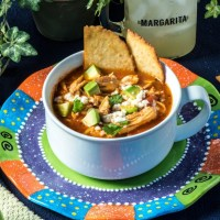 Keto Chicken Tortilla Soup