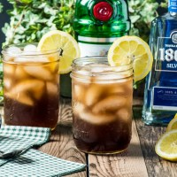 Keto Long Island Iced Tea Cocktail
