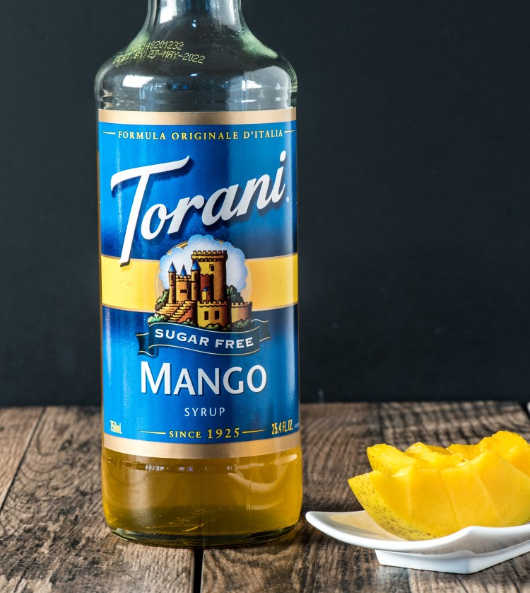 To show Torani Mango Syrup for purchase