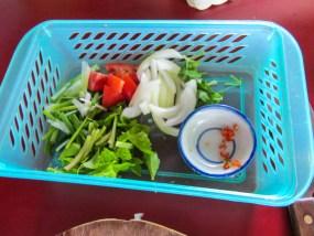 Alle Zutaten für den Glasnudelsalat