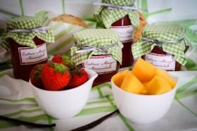 Erdbeer-Mango-Marmelade