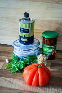 Tomaten Basilikum Aufstrich