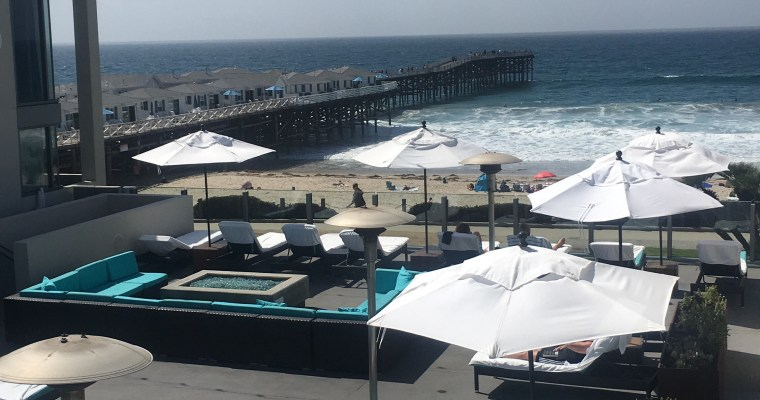 Staying at Tower 23 in Pacific Beach California