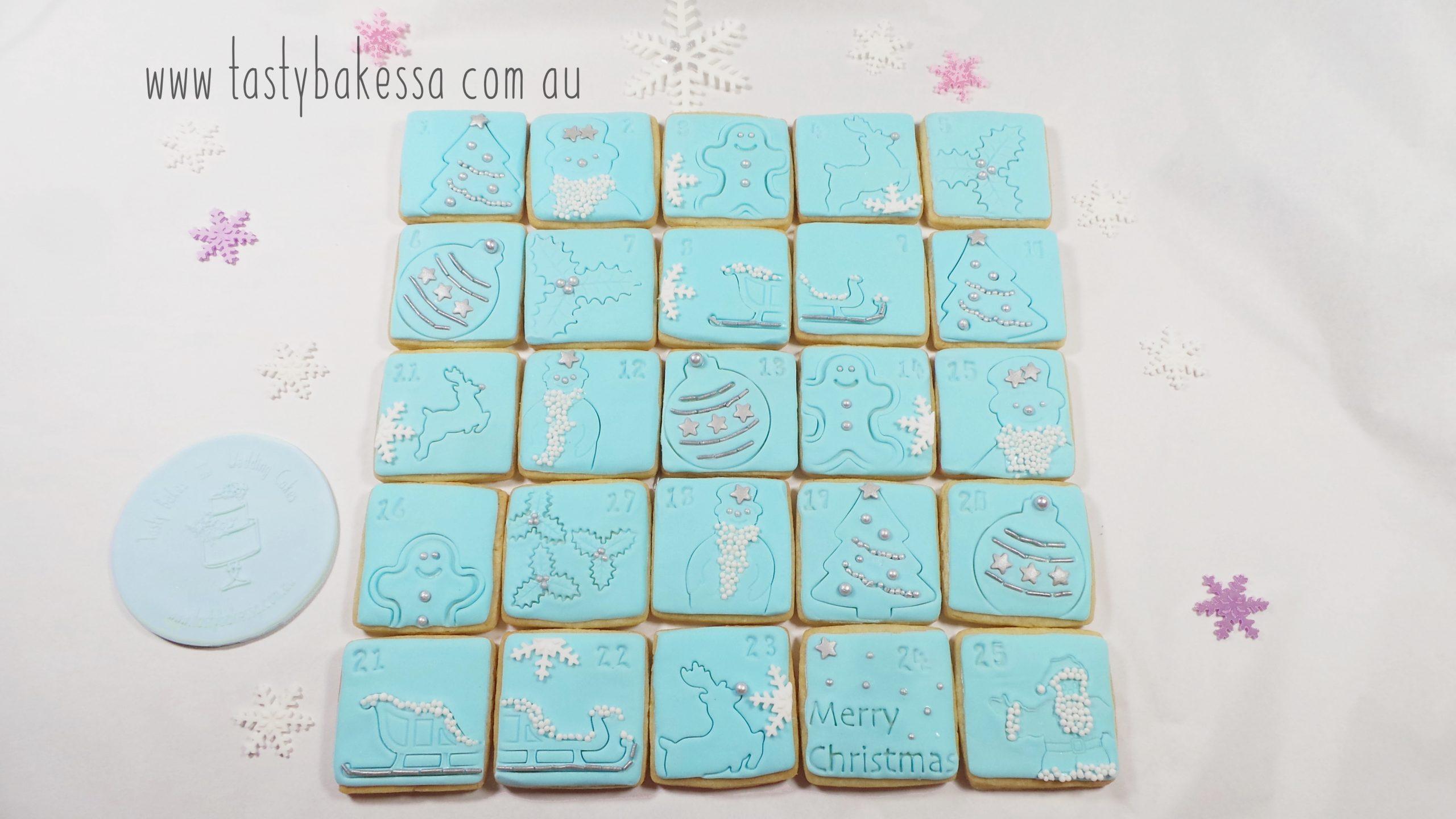 advent calendar cookie
