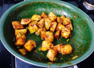 6-300x218 Jeera aloo/Stir fried cumin potatoes