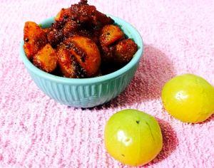 IMG_9567-300x236 Spicy gooseberry/amla pickle/ Nellikai Pickle