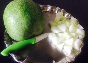 IMG_9663-300x214 White pumpkin in Yogurt based Gravy/ Nellai More Kozhambu/ Laukhee Dahi Sabzi