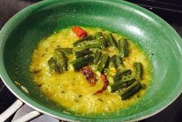 IMG_9676-300x202 Okra in Yogurt Gravy/ Tamilnadu More Kozhambu/ Bhindi dahi sabzi