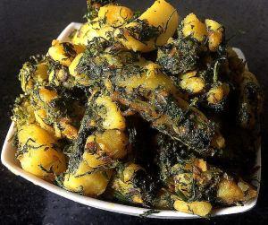 IMG_9735-300x251 Cilantro potato/Dhania potato