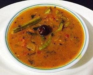 IMG_1284-300x243 Gram Flour Broth/ Besan Sambhar/Kadalai Mavu Sambhar
