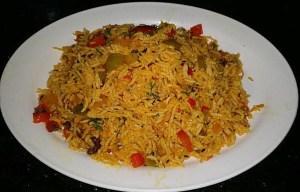 IMG_1350-300x192 Green Pepper Rice/Shimla Mirchi Pulao
