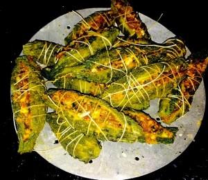 IMG_1506-300x260 Stuffed Bitter Gourd/Bharwan Karela