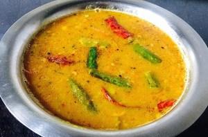 IMG_0814-300x198 Okra Lentil Soup/ Bhindi Sambar/Vendaikkai Sambar