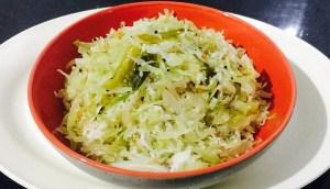 IMG_1609-300x172 Stir Fried Cabbage/Cabbage Poriyal