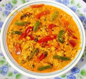 IMG_2127-300x274 Scrambled Cottage Cheese Gravy / Paneer Bhurji Gravy