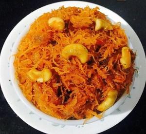 IMG_2258-300x275 Vermicelli Saffron Sweet Pudding/Semiya Kesari