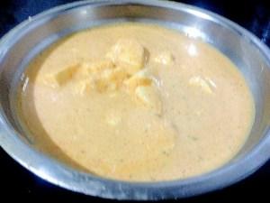 IMG_2485-300x225 Cottage Cheese/Paneer in Yogurt Sauce/Paneer Dahiwala