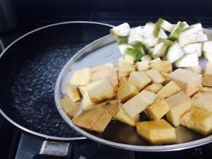 IMG_2659-300x225 Yam and Raw Banana with Coconut and Spices/ Senai Vazhakkai Erissery