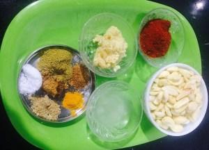 IMG_2696-300x216 Garlic Pickle/Lasoon Achar/Poondu Oorugai