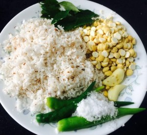 IMG_4807-300x275 White Coconut Chutney with Yogurt