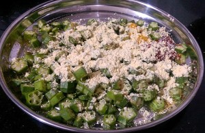 IMG_7629-300x194 Bhindi Fry / Stir Fried Crispy Okra