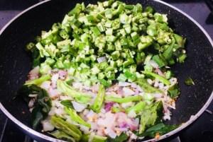 IMG_8432-300x201 Okra Tomato Curry/Vendaikkai Pachadi (Nellai Style)