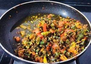 IMG_8438-300x212 Okra Tomato Curry/Vendaikkai Pachadi (Nellai Style)