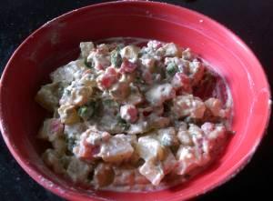 HACM6154-300x221 Potato Yogurt Salad