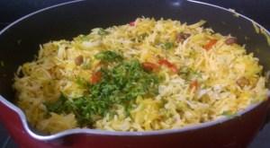 NTQW9464-300x165 Cabbage and Capsicum Rice