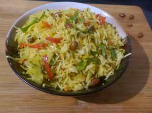 OARL1893-300x223 Cabbage and Capsicum Rice