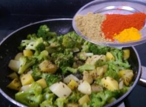 PKWQ3804-300x219 Aloo Broccoli Dry Curry/Potato and Broccoli Stir fry