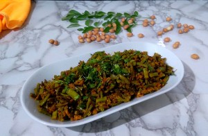 AJEW1705-300x196 Nutty Cluster Beans Curry/Gawar Masala
