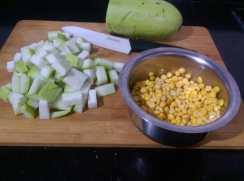 KGXI1515-300x223 Bottle Gourd Lentil Curry/Lauki Channa Dal Ki Subzi