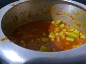 TKOD4330-300x223 Bottle Gourd Lentil Curry/Lauki Channa Dal Ki Subzi