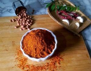 GXXJ5525-300x235 Peanut Chutney Powder for Idli and Dosa