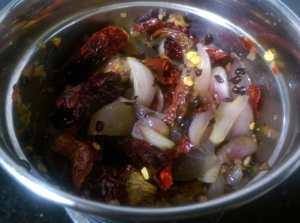 VNGG9289-300x223 Chilli Onion Chutney for Idli and Dosa