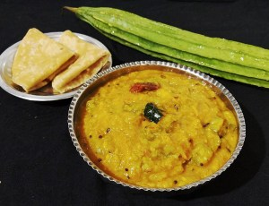ANQI4679-1-300x230 Ridge Gourd Lentil Curry/ Turai Ki Dal/ Peerkangai Kootu