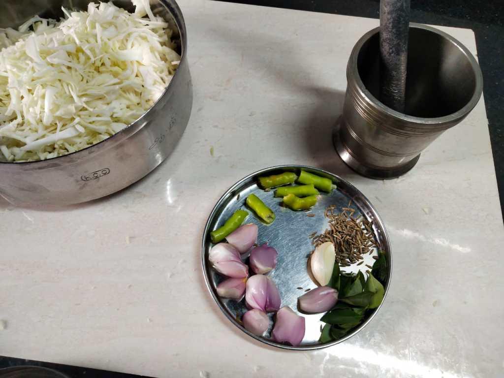 CCGL4923-1024x768 Kerala Style Cabbage Stir Fry/Cabbage Thoran