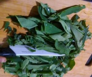 FGZR0143-300x251 Taro Leaf Stir Fry / Arbi Leaves Sukki Bhaji/ Chembilai Thoran