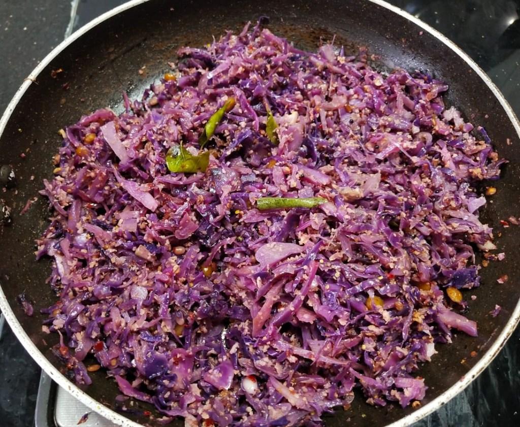 FMMJ4587-1024x841 Karnataka Style Purple Cabbage Stir Fry/ Purple Cabbage Palya (Cabbage Poriyal)