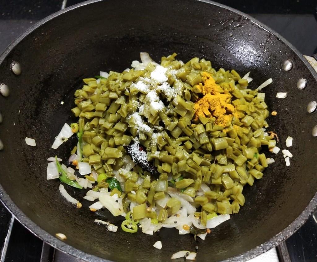 HPEO2731-1024x847 Cluster Beans Curry/ Kothavarangai Poriyal