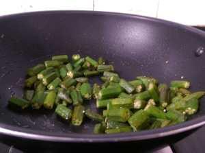 KLZS1941-300x223 Stir fried Okra in Onion Dry Curry/ Bhindi Do Pyasa