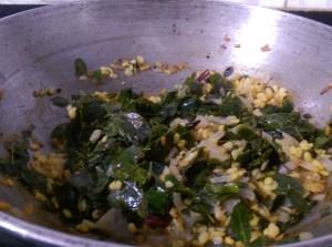 LQOV8242-300x223 Moringa Leaves and Green Gram Lentil Stir Fry/ Murungai Keerai Paasi Paruppu Poriyal