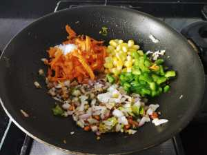 LROQ6465-300x225 Instant Ragi Vegetable Kuzhi Paniyaram/ Finger Millet (Nachani) Vegetable Appams