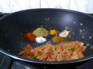 NGAJ8521-300x223 Stir fried Okra in Onion Dry Curry/ Bhindi Do Pyasa