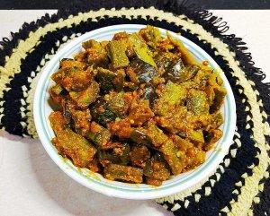 OWNP7584-300x241 Ridge Gourd and Brinjal Curry/ Thurai Baingan Ki Subzi