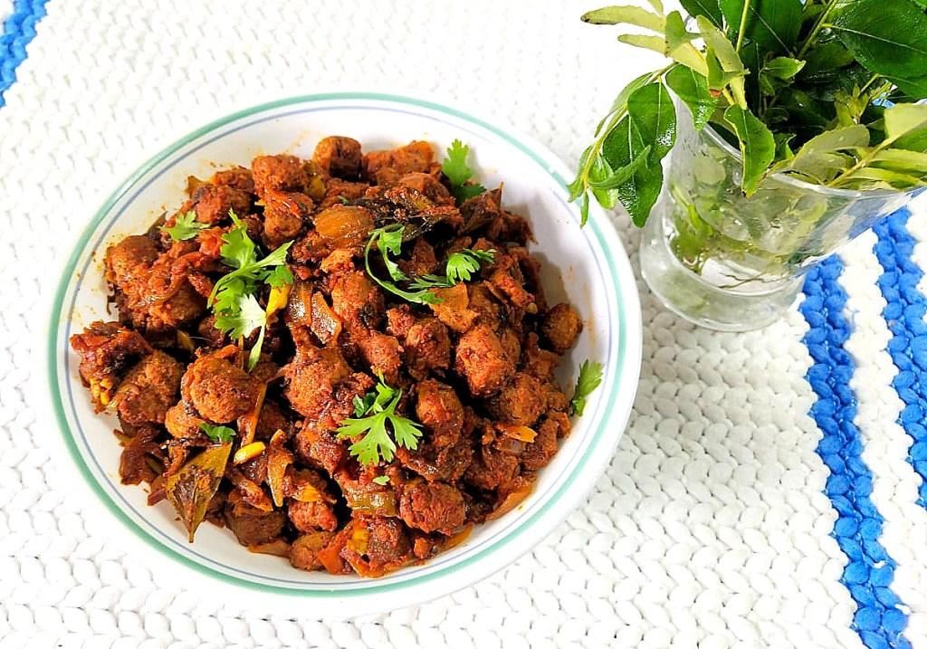UGUK7063-1024x717 Soya Chunks Dry Masala/ Meal Maker Dry Masala