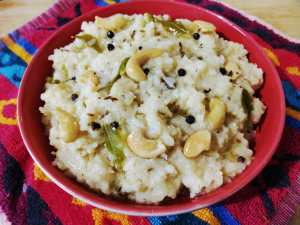 WhatsApp-Image-2018-11-24-at-2.17.14-PM-300x225 Rice with Green Gram Lentil and Cabbage/ Cabbage Ven Pongal/ Cabbage Kara Pongal