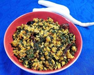 kEERA-PORIYAL-300x240 Easy Radish Stir fry with Radish Green/ Dry Mooli Ki Subzi/ Mullangi Keerai Pasi Paruppu Poriyal